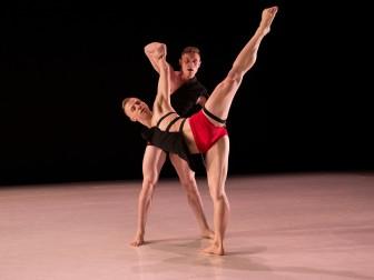 "Nicholas Sciscione & Alex Biegelson of 10 Hairy Legs in ""Bud."""