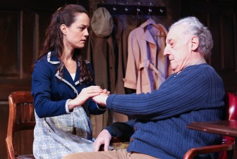 "Allison Plamondon and Howard Green co-star in ""Trying,"" which is at Cape May stage through Nov. 15."