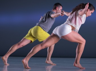 """Brandon Collwes and Claire Westby dance in """"Horizon."""""""