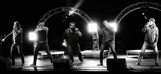 Home Free performs at the Grunin Center at Ocean County College in Toms River, on Feb. 20.