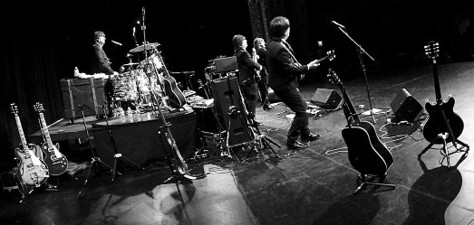 The Cast of Beatlemania performs at the Strand Theater in Lakewood, on Feb. 14.