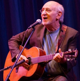 Peter Yarrow performs at the Grunin Center in Toms River, Feb. 6.