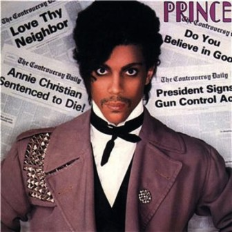 "Prince, on the cover of his 1981 album, ""Controversy."""