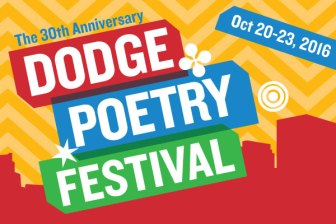 The Dodge Poetry Festival takes place in Newark, Oct. 20-23.