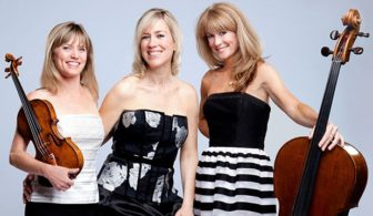 The Eroica Trio performs at the Mayo Performing Arts Center, March 24.