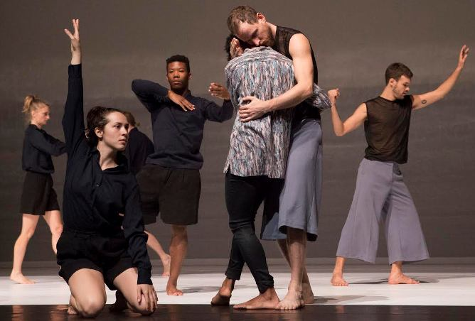 "Members of the Cullberg Ballet in ""Figure a Sea,"" which will be at the Peak Performances series at Montclair State University through Oct. 9."