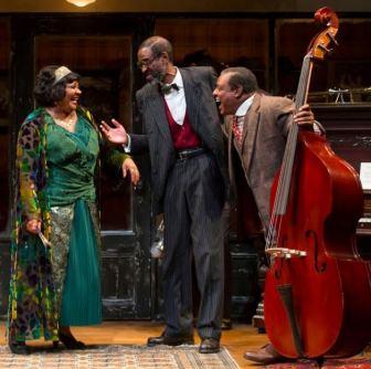 "From left, Arnetia Walker, Brian D. Coats and Harvy Blanks in ""Ma Rainey's Black Bottom."""