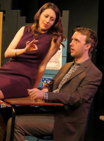 "Alex Trow and Graham Techler co-star in ""Mad Love,"" which is at the NJ Repertory Company in Long Branch through Nov. 20."