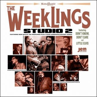 "The cover of The Weeklings' second album, ""Studio 2."""