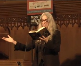 Patti Smith Montclair