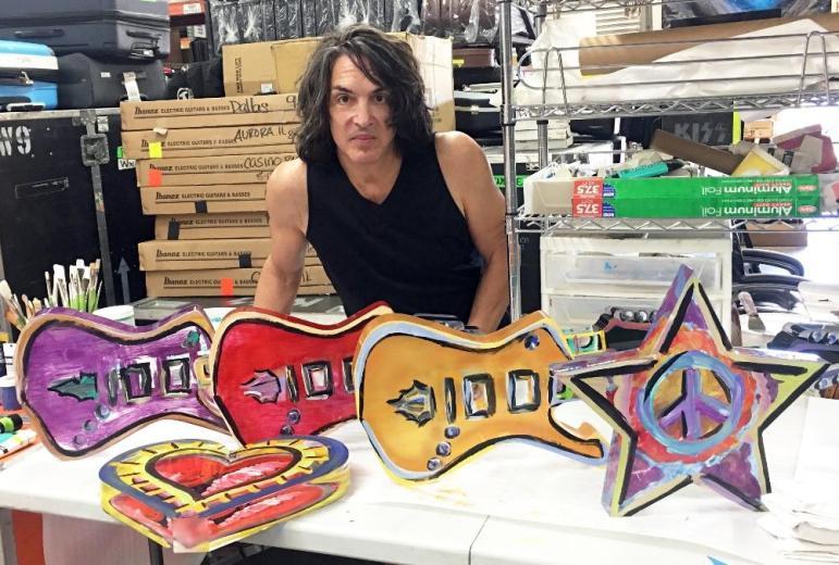 Paul Stanley artwork