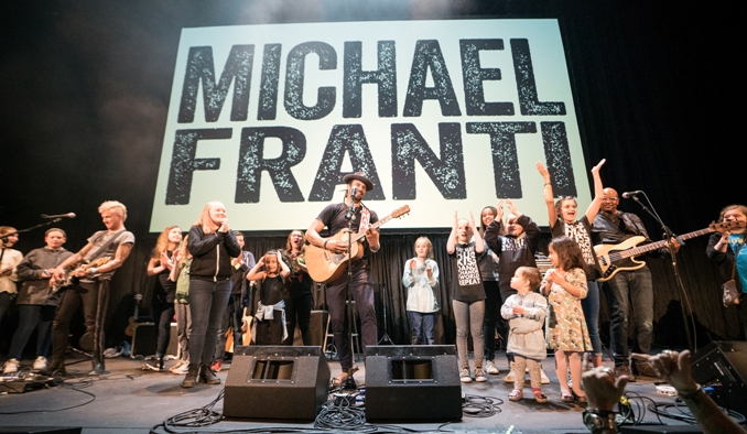 Michael Franti Stay Human film