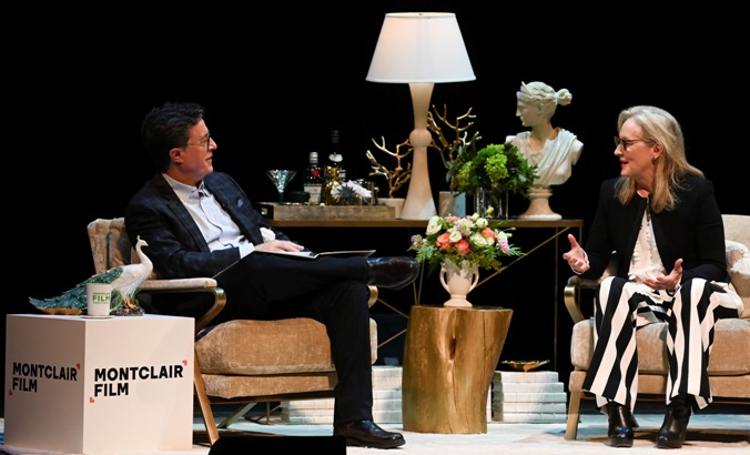 Streep Colbert