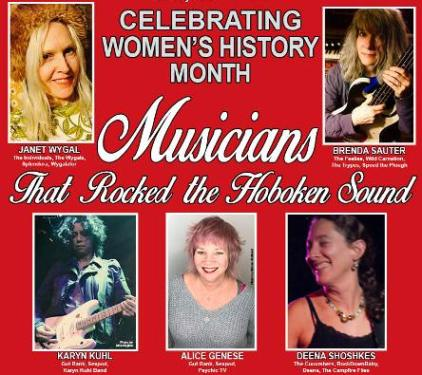 MUSICIANS THAT Rocked the Hoboken Sound