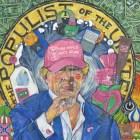 Montclair Trump Painting