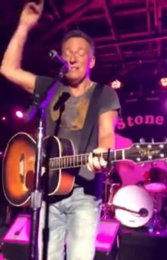 Springsteen Pony setlist