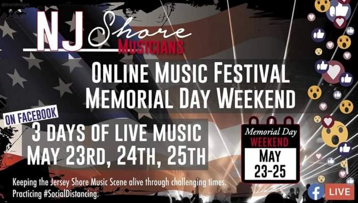Jersey Shore Online Music Festival
