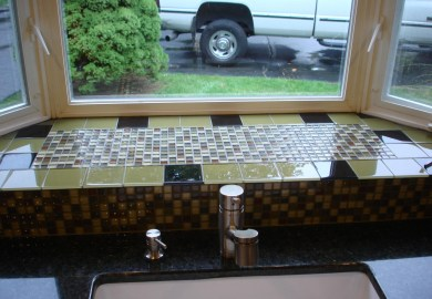 Kitchen Sink Bay Window