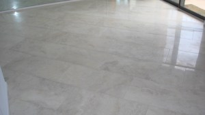 Porcelain Tile Floor In Dining Room New Jersey Custom Tile