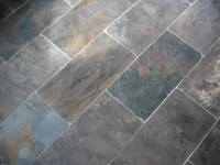 Slate tile floor display | New Jersey Custom Tile