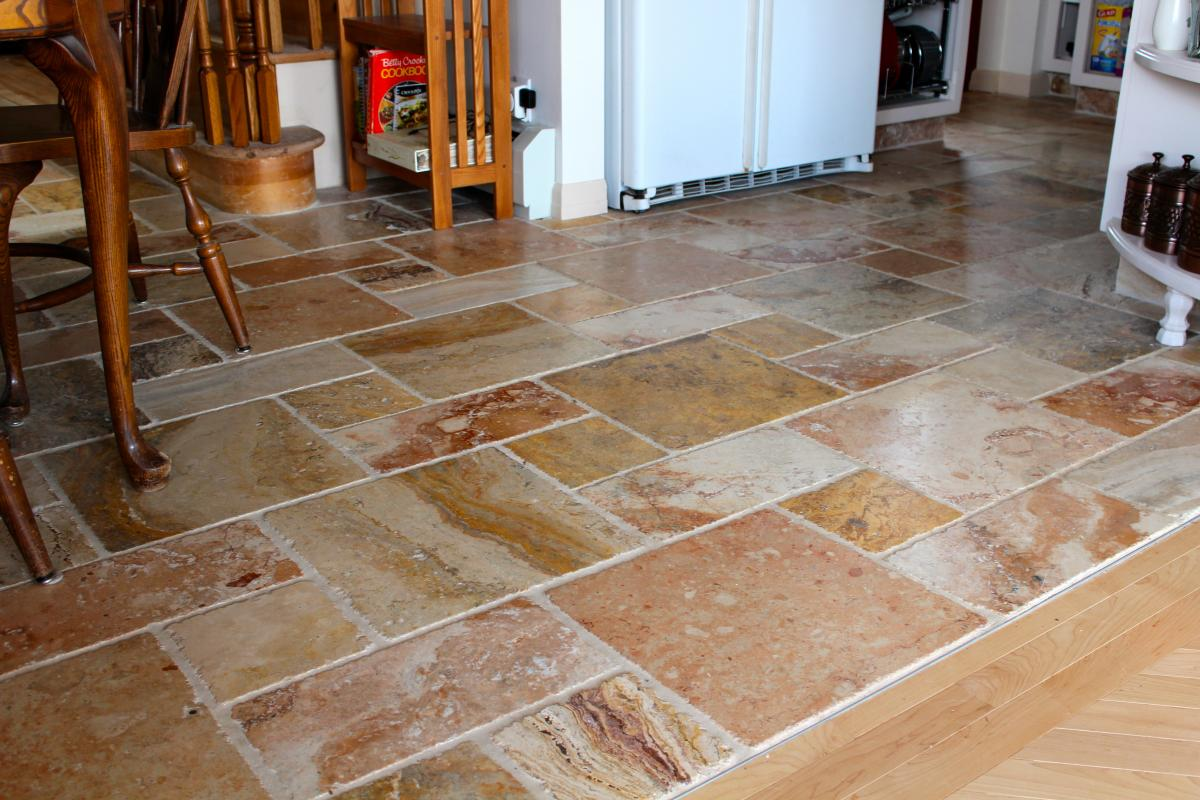 kitchen flooring tiles cheap modern cabinets floor afreakatheart