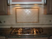 Handmade ceramic kitchen backsplash | New Jersey Custom Tile