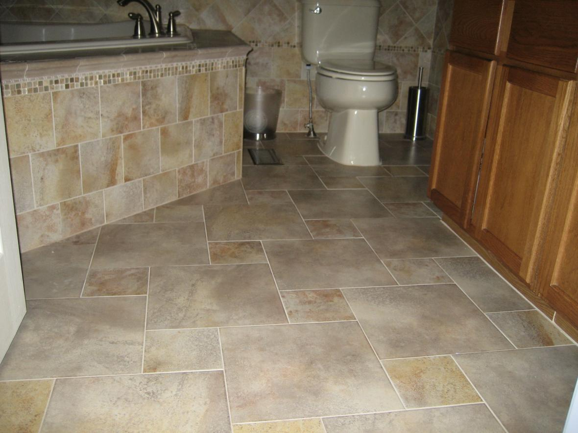 Bathroom Floors  New Jersey Custom Tile