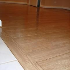 Kitchen Wood Tile Floor Vinyl Flooring Rita G New Jersey Custom