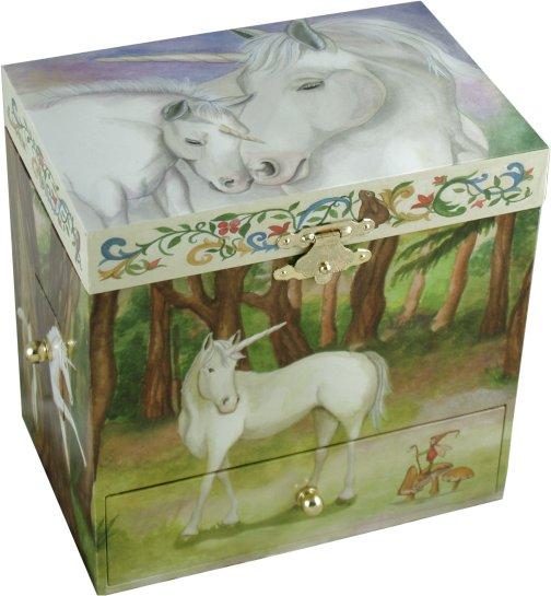 Unicorn Musical Treasure Box Mythology Musical Treasure