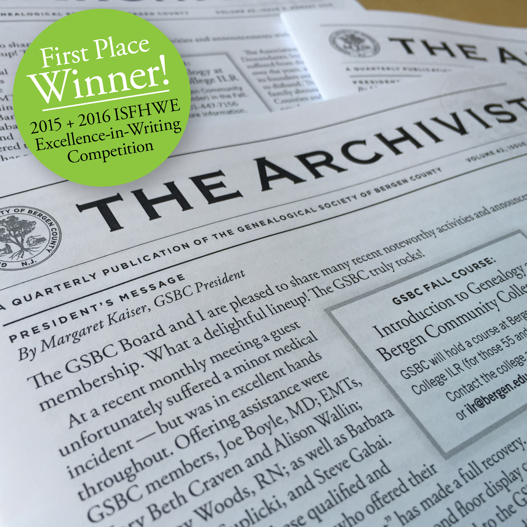 Sponsor an ad in the archivist the genealogical society of sponsor reheart Images