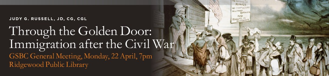 Through the Golden Door: Immigration After the Civil War @ Ridgewood Public Library | Ridgewood | New Jersey | United States