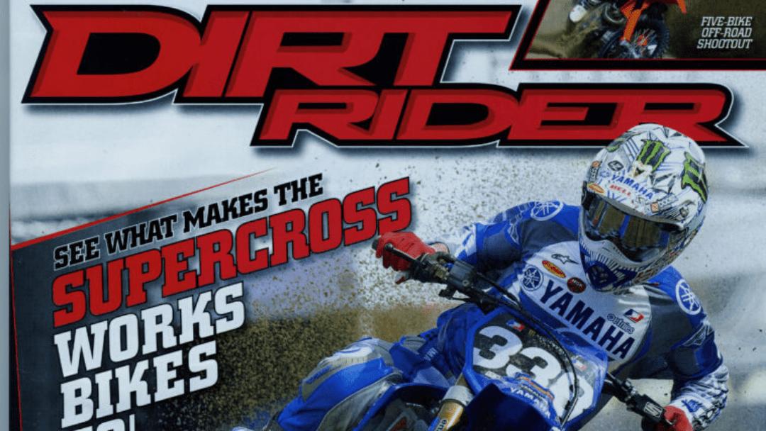 Dirt Rider Magazine, Jason Lawrence