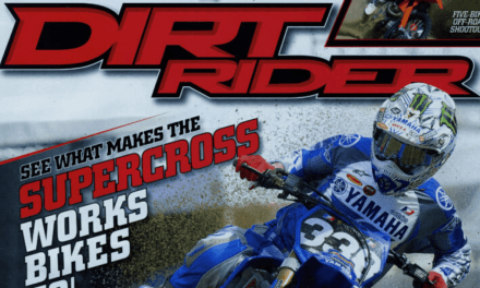 Dirt Rider Magazine, Jason Lawrence