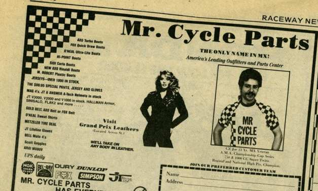 The End of an Era… Mr Cycle Parts Shuts Its Doors