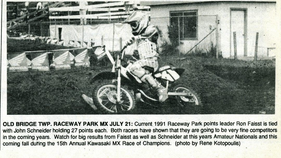 Ronnie Faisst…Then and Now