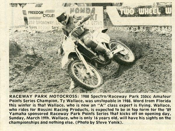 Raceway Park Results 8/7/88