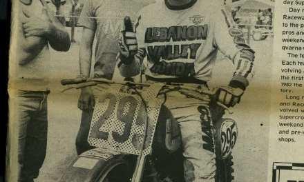 Raceway News Flashback 1982