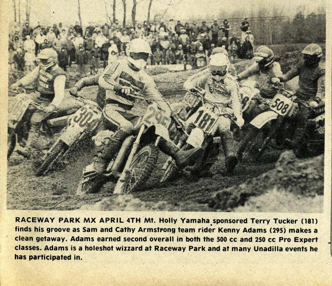 start raceway News 1982