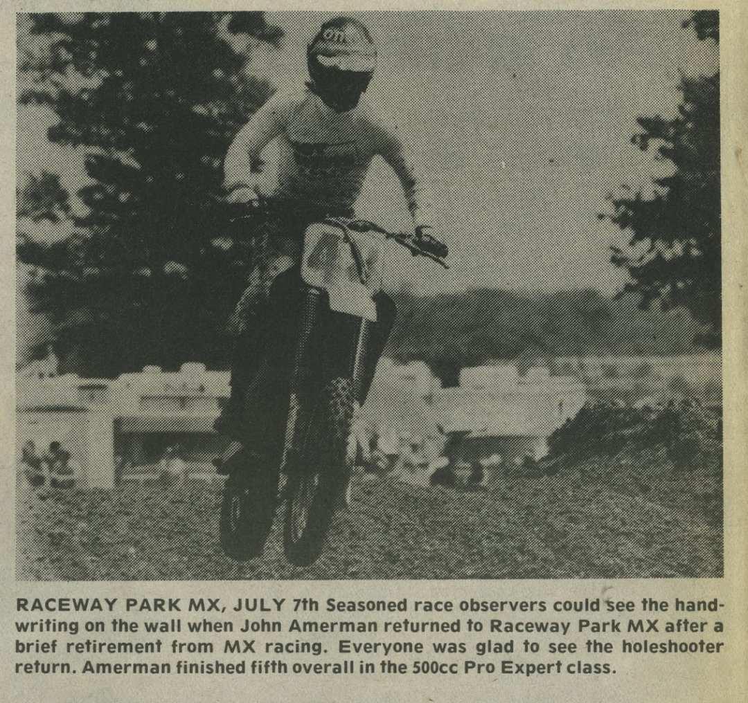 raceway news flashback john amerman