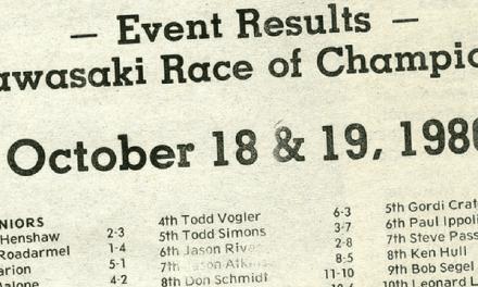 Raceway Park Results KROC 1986