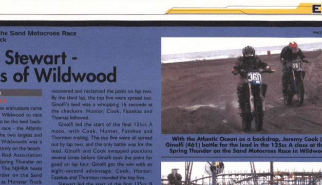 Thunder in the Sand Results  – June 4-6, 2004