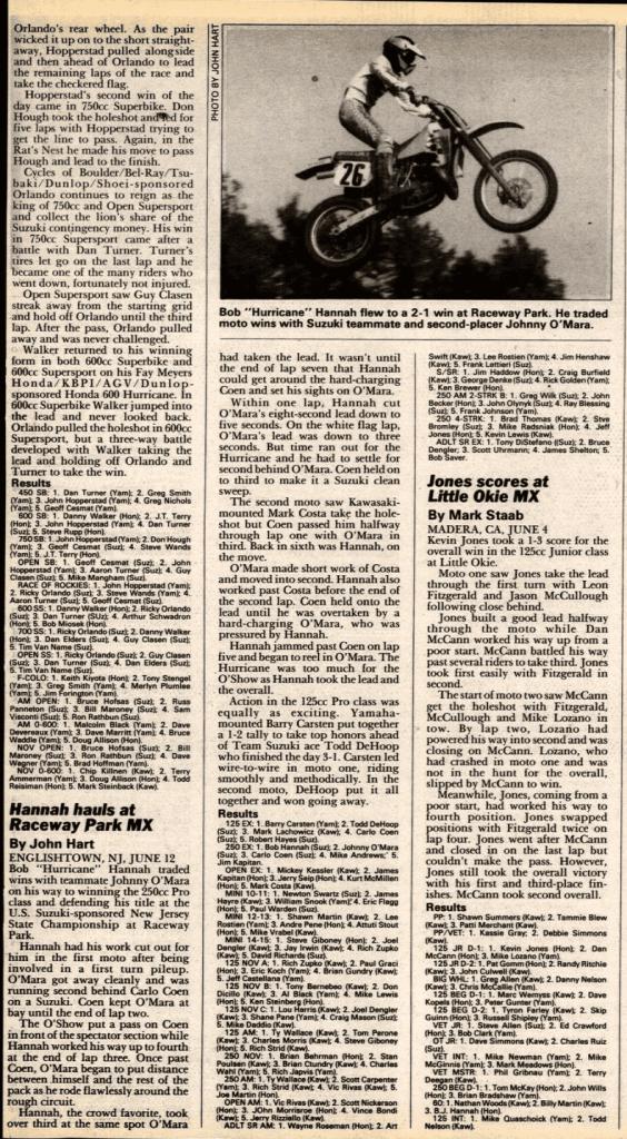 raceway park 6/12/88