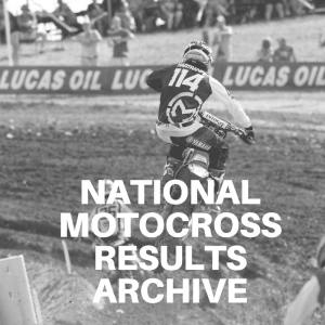 national motocross results archive
