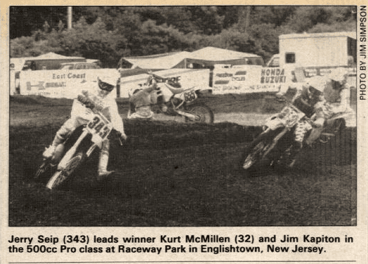 Raceway Park Results from 7/30/89