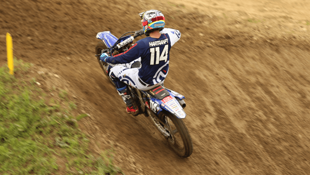 Hartranft Re-Signs with Cycle Trader Rock River Yamaha