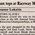 Raceway Park Results from 6/9/91