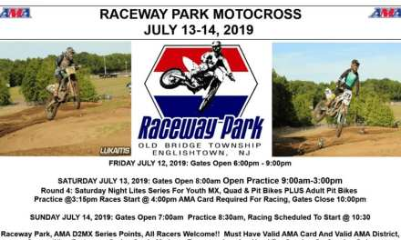 Raceway Park Weekend Schedule July 13-14, 2019