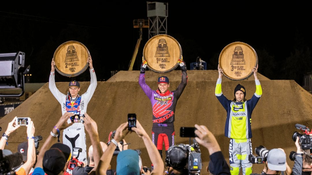 Brandon Hartranft Finishes Second at Red Bull Straight Rhythm