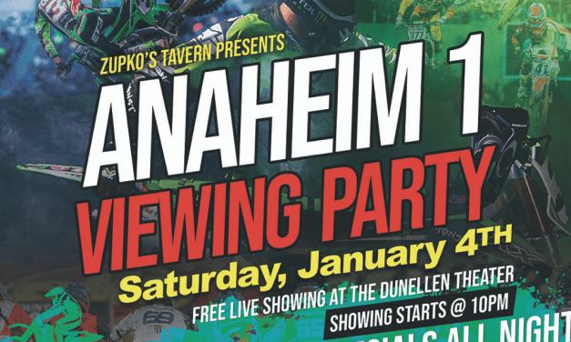 Anaheim 1 Watch Party at Zupko's