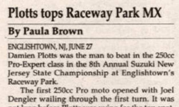 Raceway Park Results from 6/27/93
